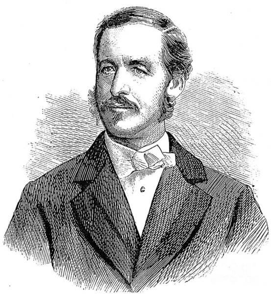 Photograph - Patrick Sarsfield Gilmore (1829-1892). American (irish-born) Bandmaster And Composer. Wood Engraving, American, 1869 by Granger