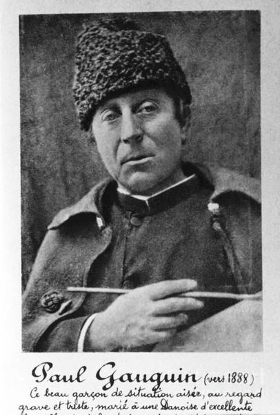 Photograph - Paul Gauguin by Photo Researchers