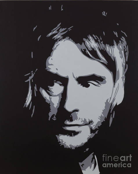 Frontman Wall Art - Painting - Paul Weller by Sonny Forbes