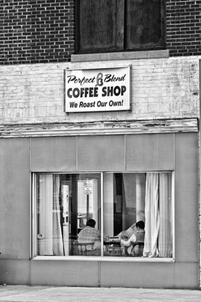Photograph - Pb Coffee Shop by Patrick M Lynch
