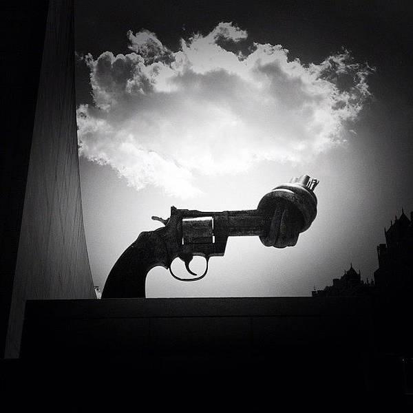 Guns Photograph - Peace - New York City by Vivienne Gucwa