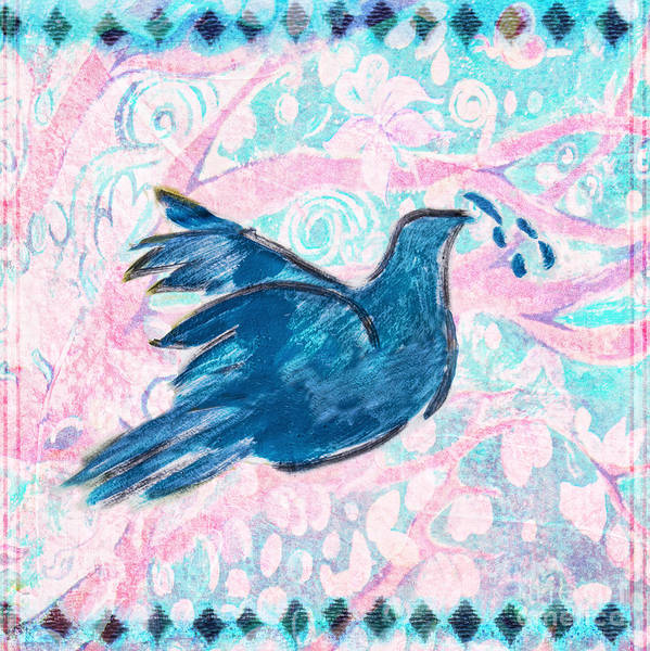 Dove Digital Art - Peace by Elena Nosyreva