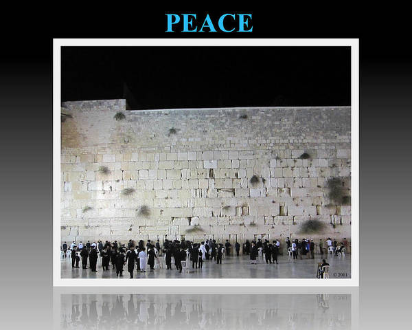 Photograph - Peace Motivational Israel by John Shiron