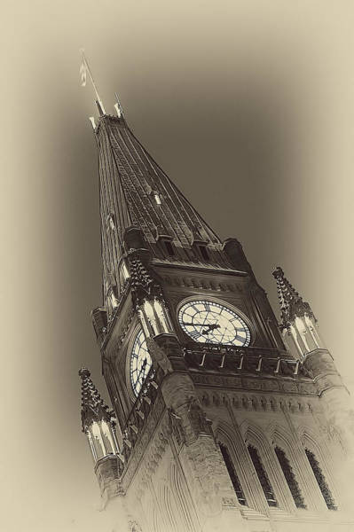 Wall Art - Photograph - Peace Tower by Eunice Gibb