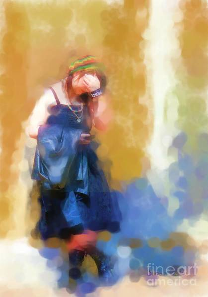Growing Up Digital Art - Peace Waiting by Susan Fisher