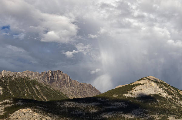 Photograph - Peaks And Clouds by David Kleinsasser