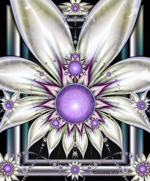 Digital Art - Pearly by Karla White