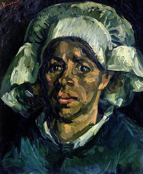 1885 Wall Art - Painting - Peasant Woman by Vincent van Gogh