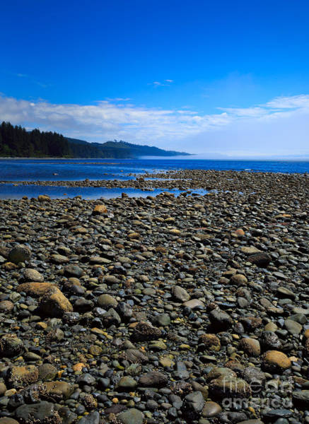 Wall Art - Photograph - Pebble Beach At Low Tide by Louise Heusinkveld