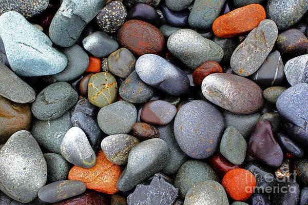 Wall Art - Photograph - Pebble On The Beach by Rick Mann