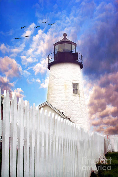 Fisher Towers Photograph - Pemaquid Point by Darren Fisher