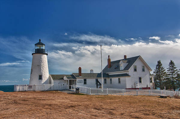 Photograph - Pemaquid Point Lighthouse 4800 by Guy Whiteley