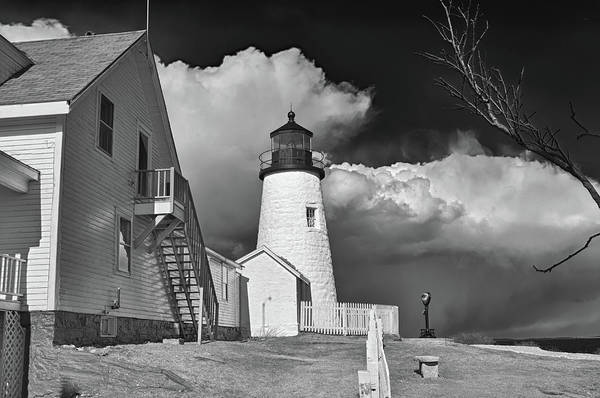 Photograph - Pemaquid Point Lighthouse 4806 by Guy Whiteley
