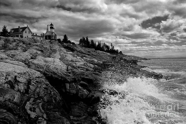 Wall Art - Photograph - Pemaquid Point Lighthouse by Keith Kapple