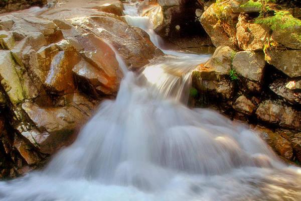 Franconia Notch Photograph - Pemigewasset Falls by Joann Vitali