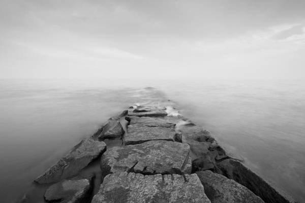 Fairfield Ct Photograph - Penfield Jetty In Fairfield Connecticut by Stephanie McDowell