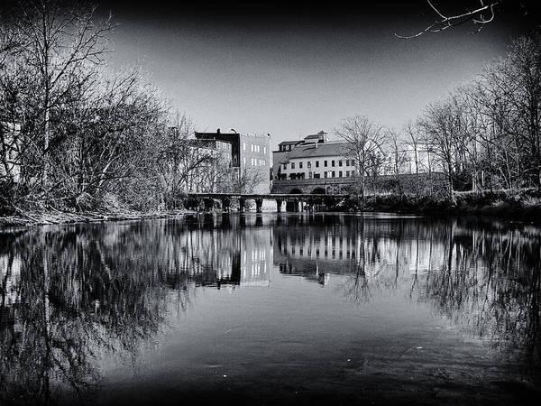 Finger Lakes Railway Photograph - Penn Yan Bridges In Black And White by Joshua House
