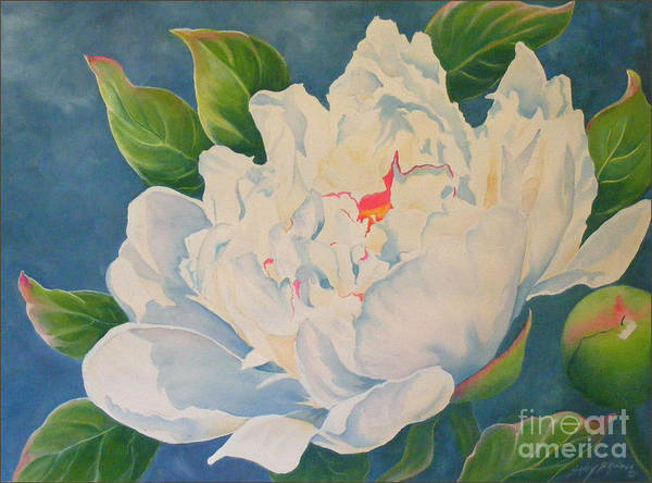 Painting - Peonies by Sandy Brindle