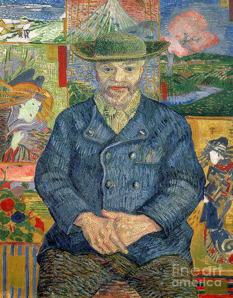 Wall Art - Painting - Pere Tanguy by Vincent van Gogh