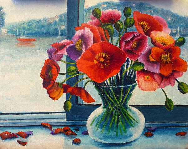 Painting - Perfect Poppies by Jeremy Holton