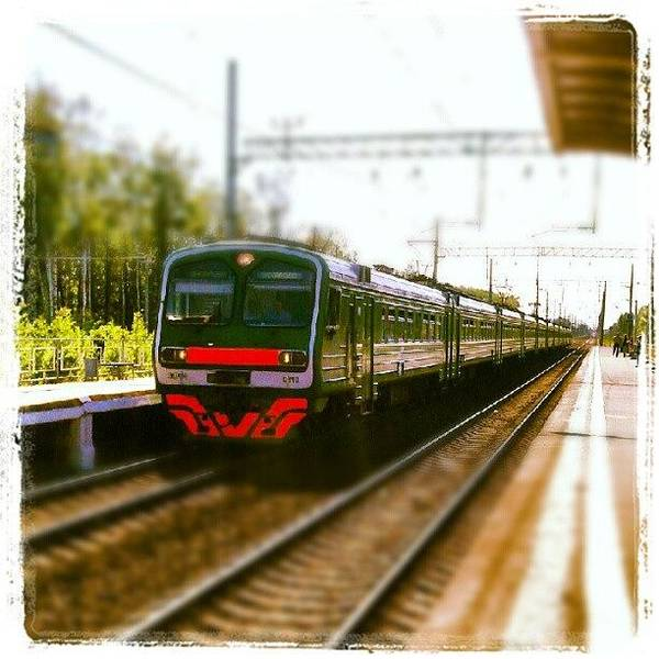 Transport Photograph - Perspective Train. (: #perspective by Orange Fox