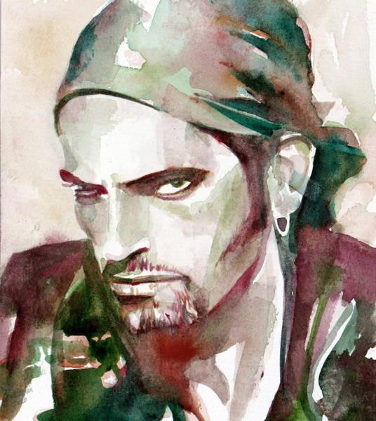 0 Painting - Peter Steele Portrait.6 by Fabrizio Cassetta