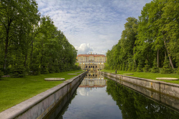 Photograph - Peterhof Palace  St Petersburg   Russia by Clare Bambers