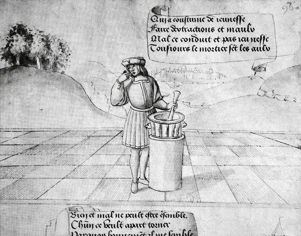 Proverb Photograph - Pharmacology Proverb, 16th Century by