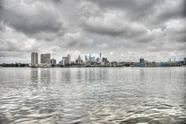 Photograph - Philadelphia Across The Water by Jennifer Ancker