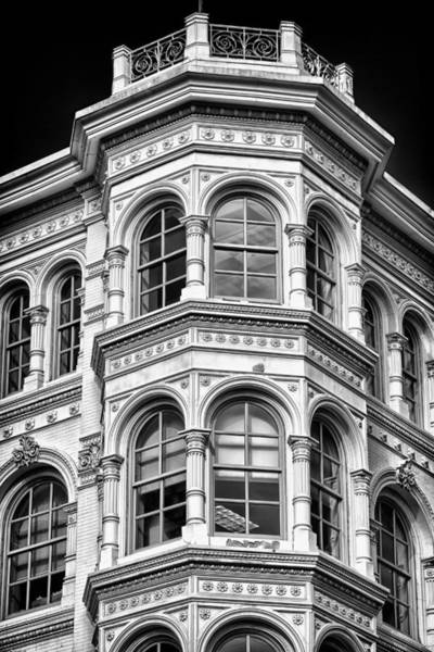 Photograph - Philadelphia Building Detail 1 by Val Black Russian Tourchin