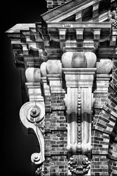 Photograph - Philadelphia Building Detail 4 by Val Black Russian Tourchin