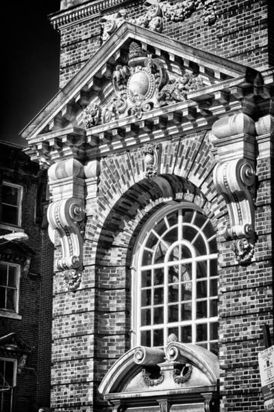 Photograph - Philadelphia Building Detail 5 by Val Black Russian Tourchin
