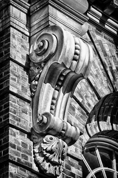 Photograph - Philadelphia Building Detail 6 by Val Black Russian Tourchin