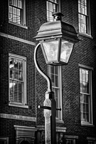 Photograph - Philadelphia Street Lamp 2 by Val Black Russian Tourchin