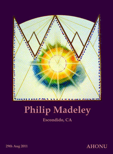 Painting - Philip Madeley by Ahonu