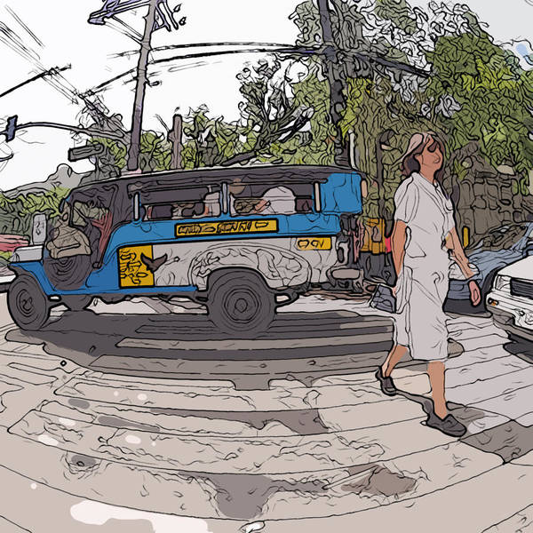 Painting - Philippines 1083 Nurse by Rolf Bertram
