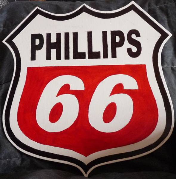 Painting - Phillips 66 by Richard Le Page