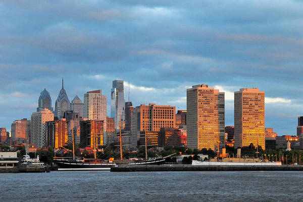 Photograph - Philly Sunrise by Craig Leaper