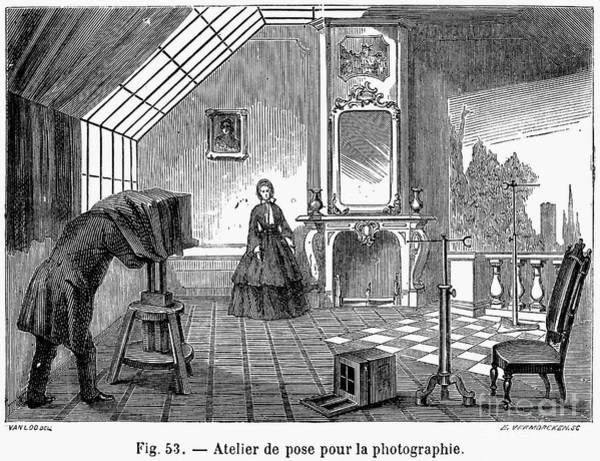 Photograph - Photography, 1876 by Granger
