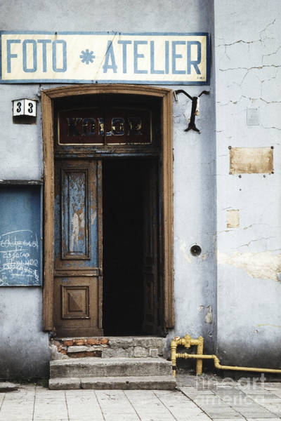 Photograph - Photography Studio Entrance by Agnieszka Kubica