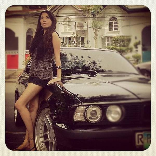 Bmw Photograph - #photoshoot #model #makeup #beautiful by Ica Mercado 💋