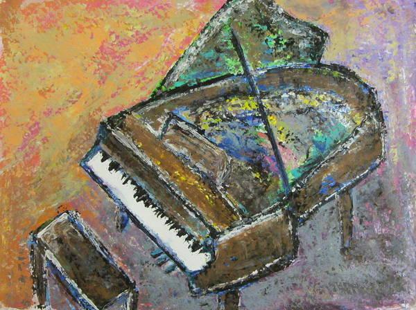 Painting - Piano Study 4 by Anita Burgermeister