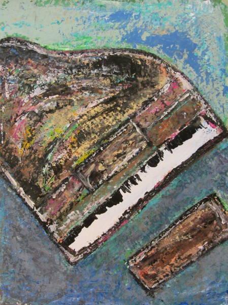 Painting - Piano Study 7 by Anita Burgermeister