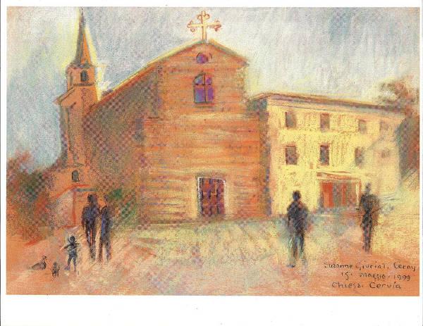 Painting - Piazza Garibaldi Cervia Ra by Suzanne Cerny