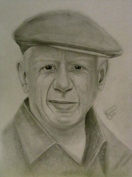 Wall Art - Drawing - Picaso  by Kimber  Butler