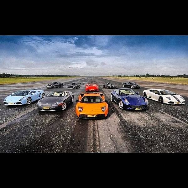 Vehicle Photograph - Pick One.. #lamborghini #ferrari by Exotic Rides