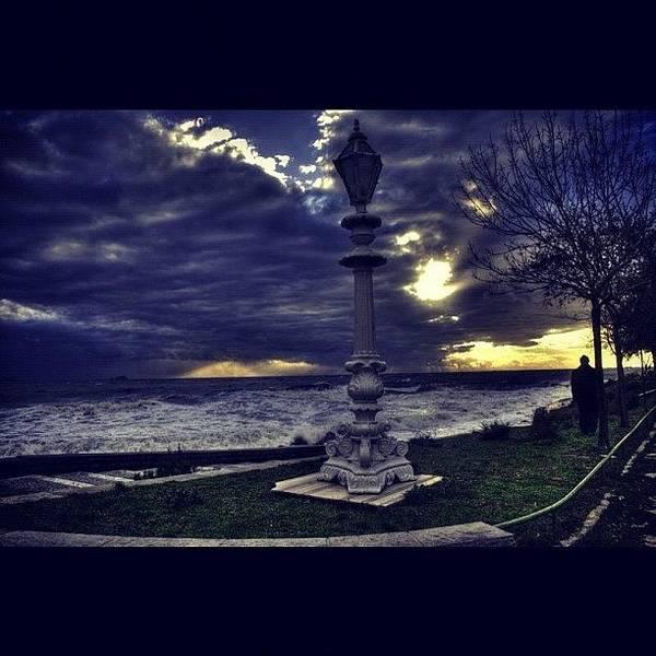 Sea Photograph - #picoftheday #photooftheday #aloneman by Ozan Goren