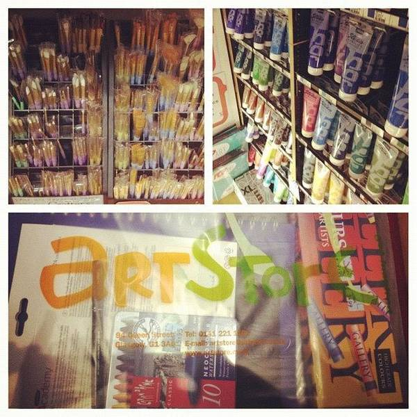 Brush Wall Art - Photograph - #picstitch #collage #art #supplies by Grace Shine