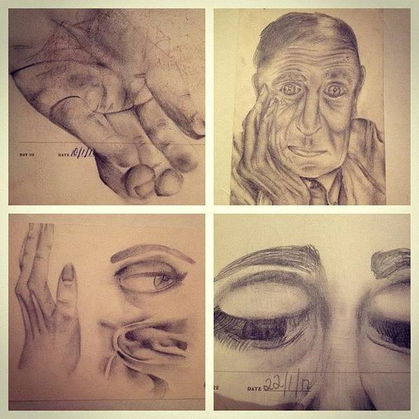 Pencil Wall Art - Photograph - #picstitch #collage #pencil #drawing by Grace Shine