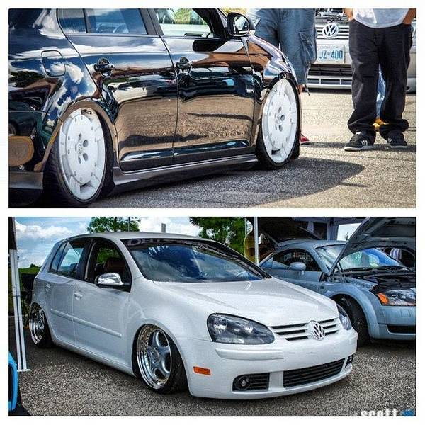 Audi Photograph - #picstitch #volkswagen #vagkraft #mk5 by Peter Rotolo